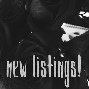 Other - new listings!!😇🖤